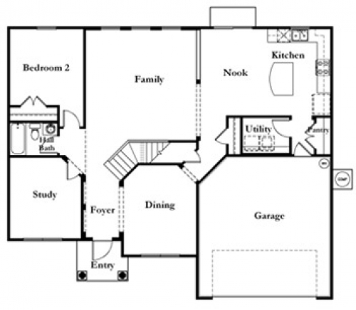 Mercedes Homes Floor Plans Las Calinas | Las Calinas Community In