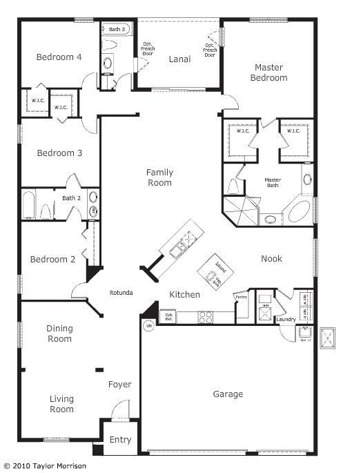 Taylor Morrison Las Calinas Floor Plans Las Calinas