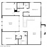 hillsdale second floor plan las calinas